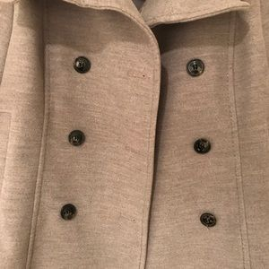 Gray Women's  Peacoat.